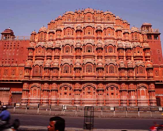 Hawa Mahal with Maharaja's Express