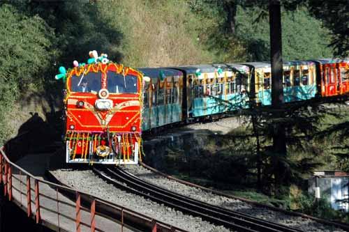 Kalka-Shimla Himalayan Railway